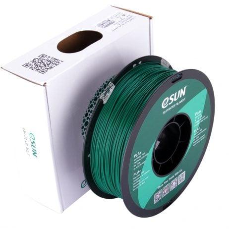 eSun PLA+ 1.75mm 3D Printing Filament 1kg-Green