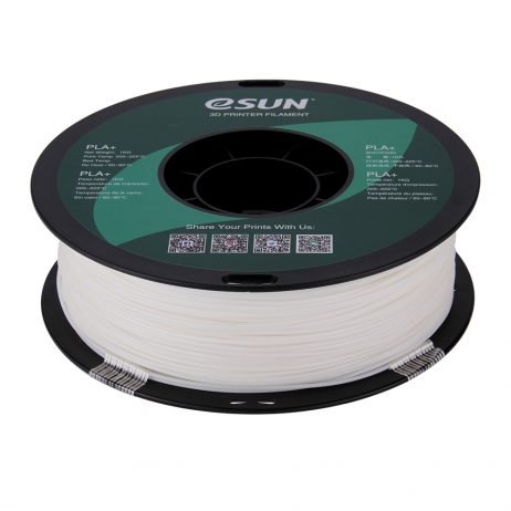 eSun PLA+ 1.75mm 3D Printing Filament 1kg-White