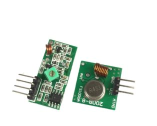 RF Transmitter Receiver Module 315MHz Wireless Link Kit For Arduino ROBU.IN