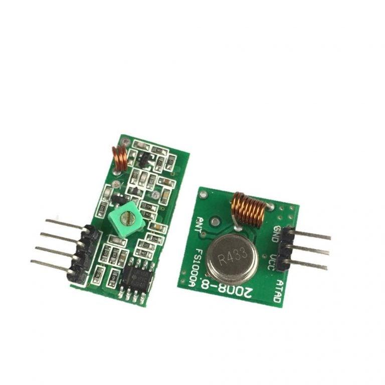 RF Transmitter Receiver Module 315MHz Wireless Link Kit For Arduino ROBU.IN