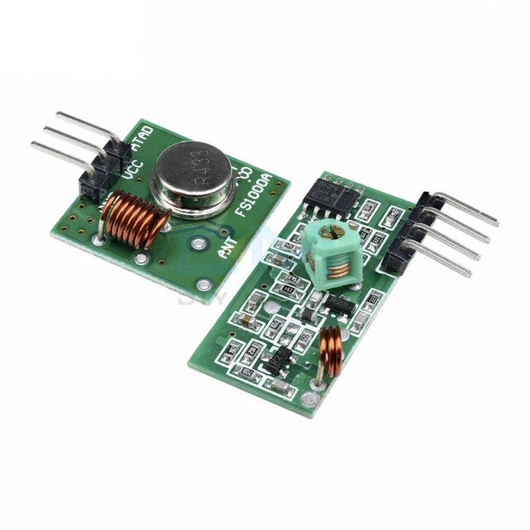 RF Transmitter Receiver Module 315MHz Wireless Link Kit For Arduino - ROBU.IN