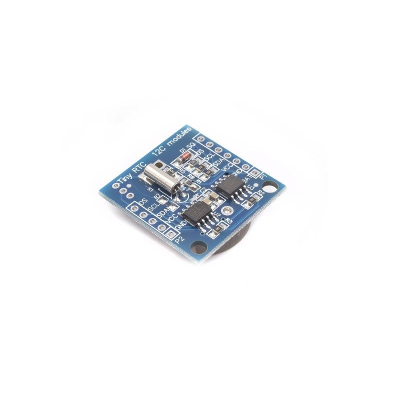 Tiny RTC Real Time Clock DS1307 I2C IIC Module for Arduino -ROBU.IN