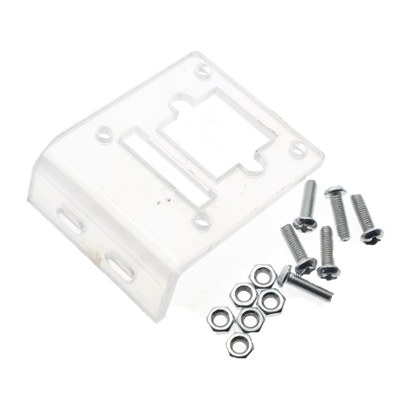 Transparent Acrylic Bracket for OV7670 VGA Camera Module - Robu.in