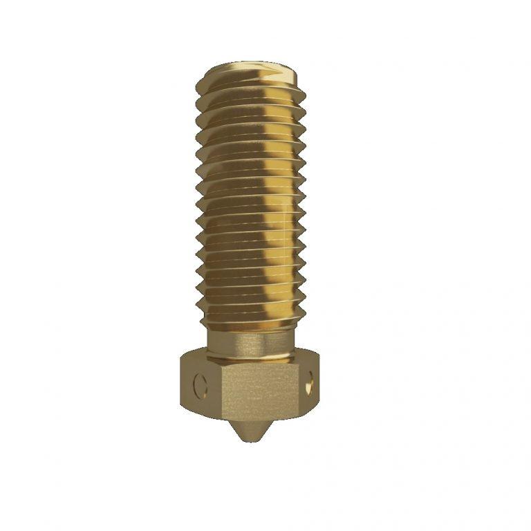 V6 Volcano Brass Lengthen Extruder Nozzle