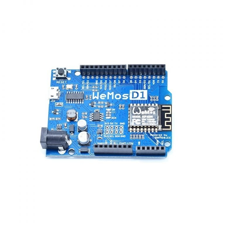 WeMos ESP8266 D1 R2 V2.1.0 WiFi Development Board-ROBU.IN