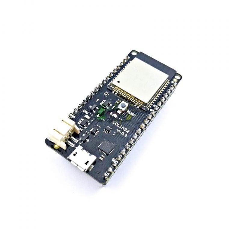 WeMos LOLIN32 V1.0.0 based on ESP32 Rev1 Wifi Bluetooth Board ROBU.IN (2)