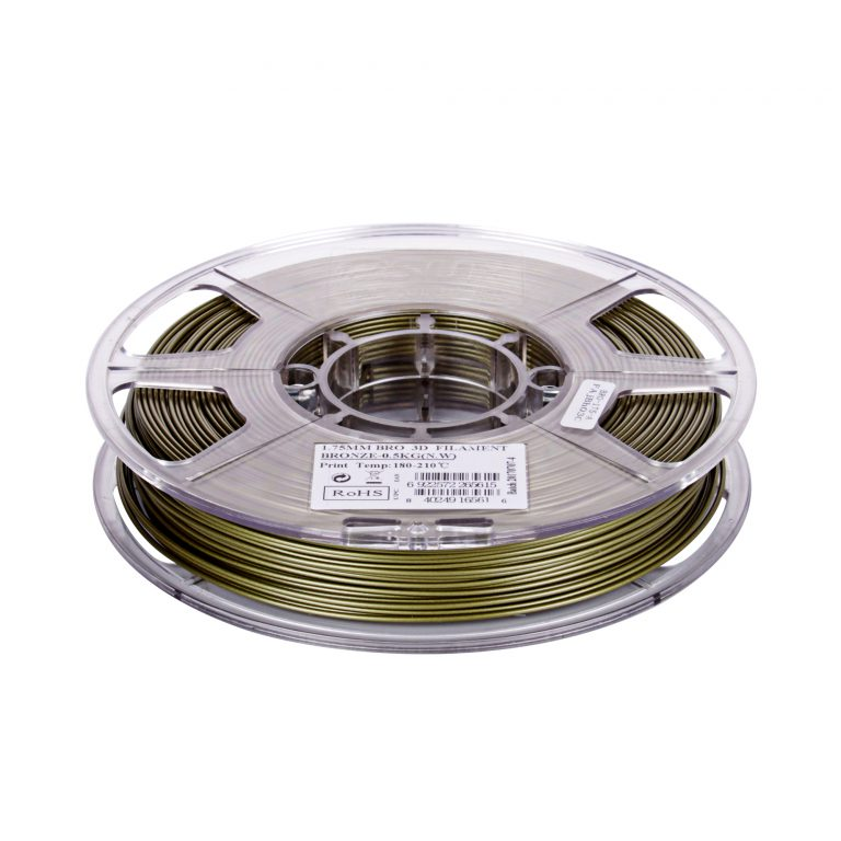 eSun 1.75mm 3D Printing Filament 0.5kg-Bronze