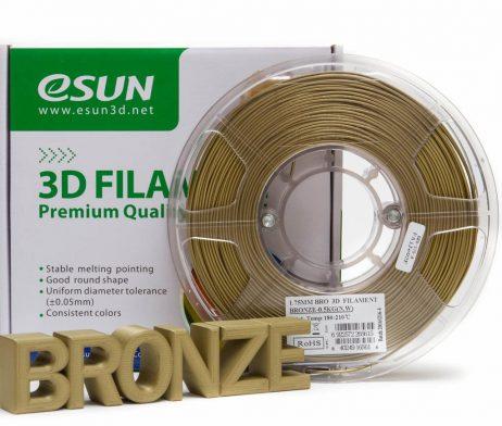 eSun 1.75mm 3D Printing Filament 0.5kg-Bronze