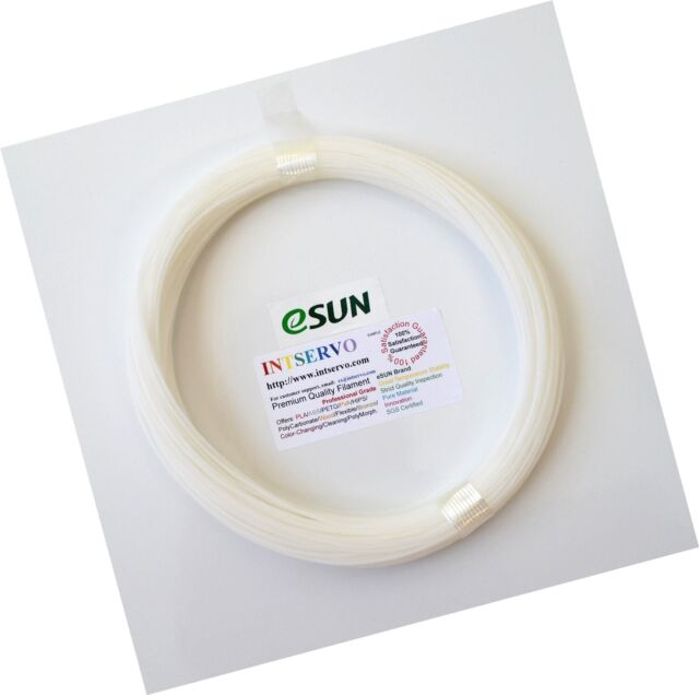 eSun 1.75mm Nozzle Cleaning Filament 100g-White