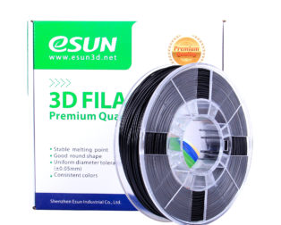 eSun 1.75mm eASA3D Printing Filament 0.5kg-Black