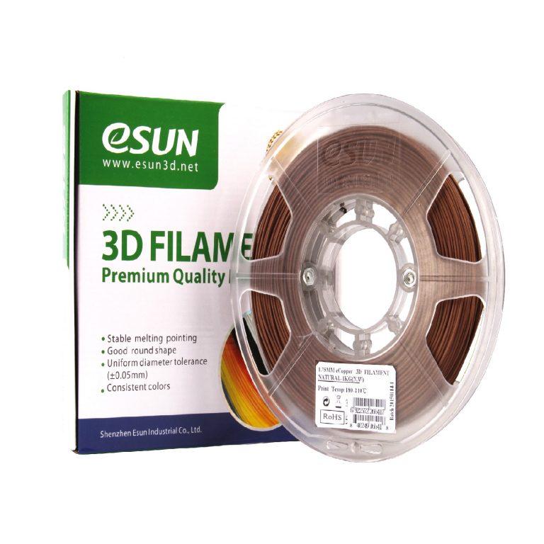 eSun 1.75mm eCopper 3D Printing Filament 0.5kg