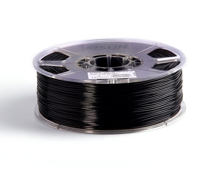 eSun ABS+ 1.75mm 3D Printing Filament 1kg-Black