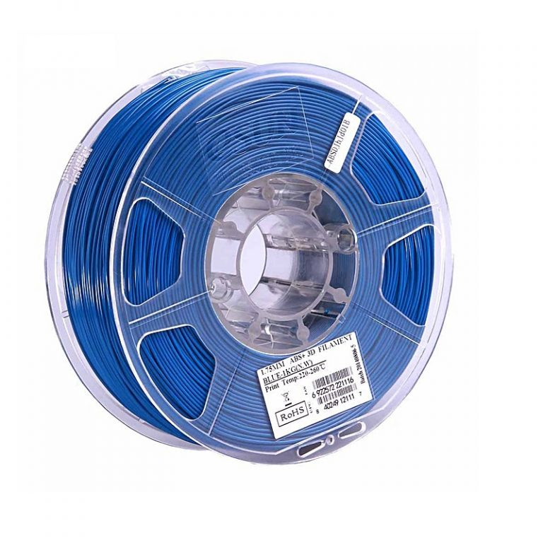 eSun ABS+ 1.75mm 3D Printing Filament 1kg-Blue