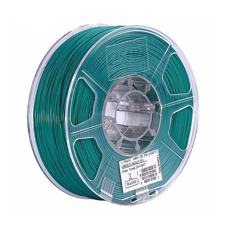 eSun ABS+ 1.75mm 3D Printing Filament 1kg-Green