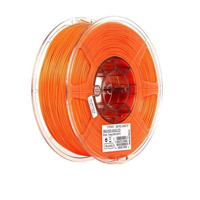 eSun ABS+ 1.75mm 3D Printing Filament 1kg-Orange