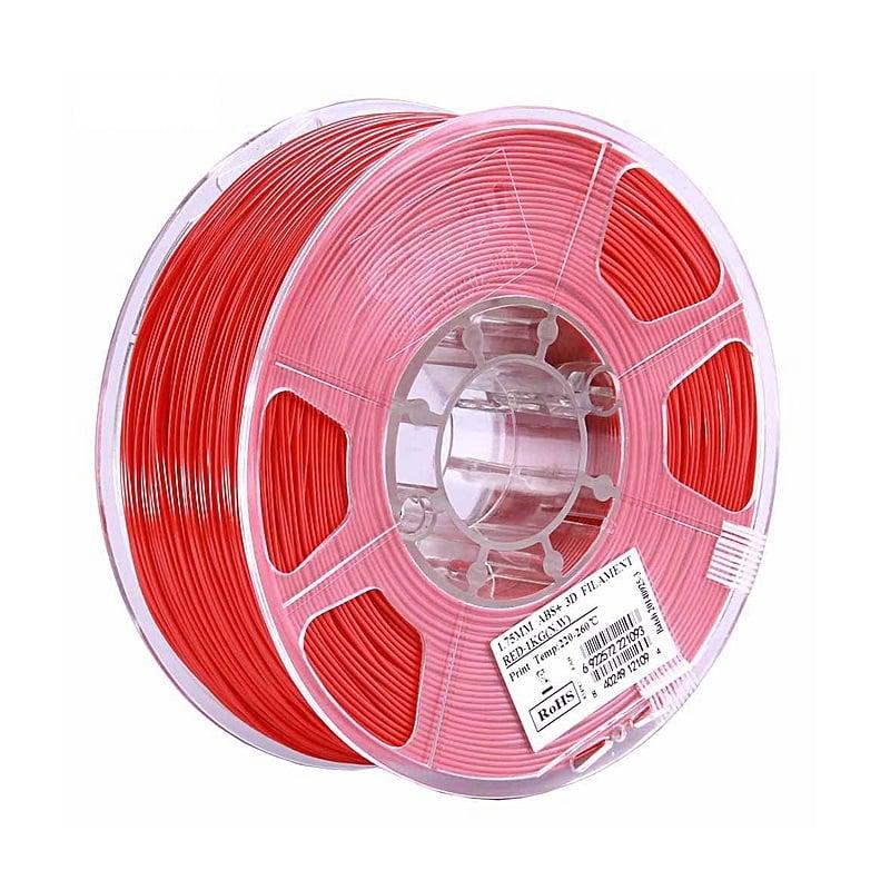 eSun ABS+ 1.75mm 3D Printing Filament 1kg-Red