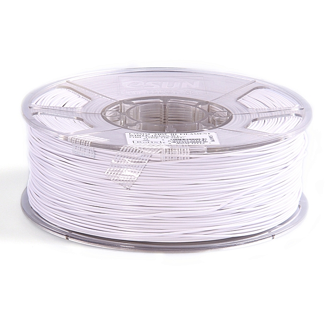 eSun ABS+ 1.75mm 3D Printing Filament 1kg-WhiteeSun ABS+ 1.75mm 3D Printing Filament 1kg-White