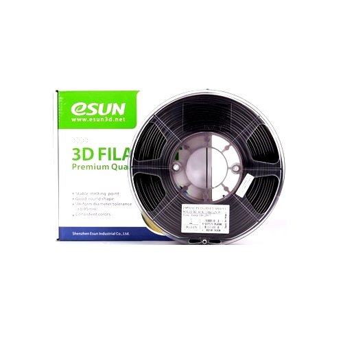 eSun PETG 1.75mm 3D Printing Filament 1kg-Solid Black