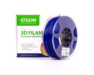 eSun PETG 1.75mm 3D Printing Filament 1kg-Solid Blue