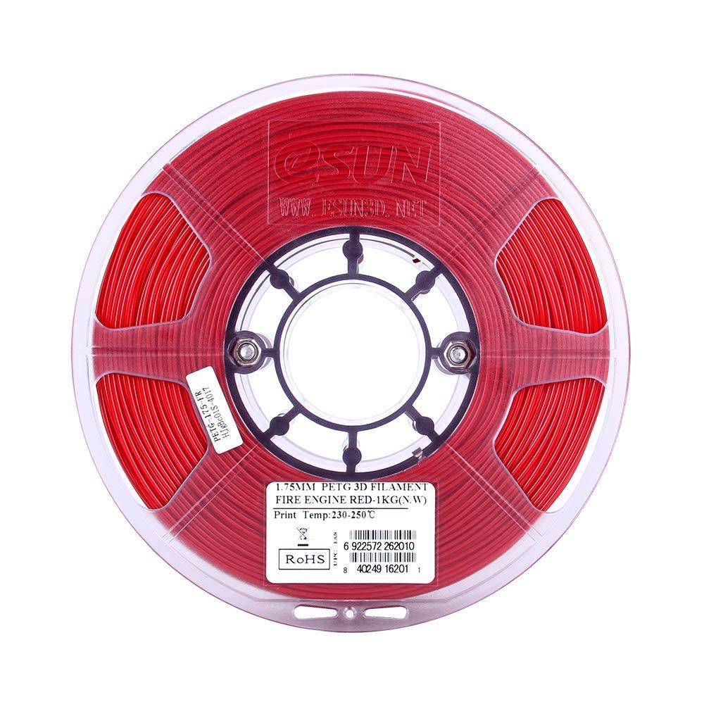 eSun PETG 1.75mm 3D Printing Filament 1kg-Solid Red