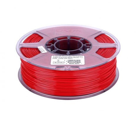 eSun PETG 1.75mm 3D Printing Filament 1kg-Solid Red