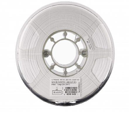 eSun PETG 1.75mm 3D Printing Filament 1kg-Solid White