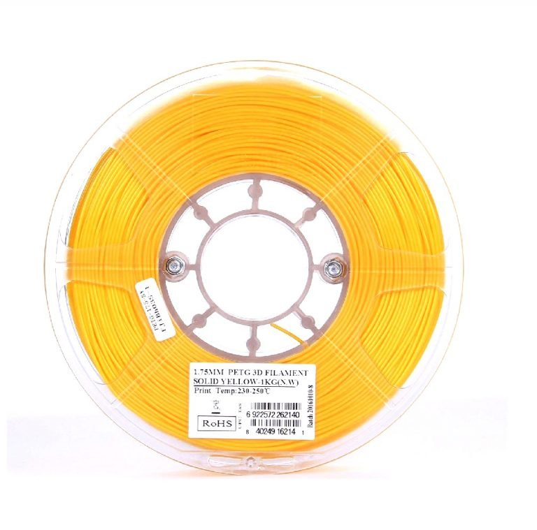 eSun PETG 1.75mm 3D Printing Filament 1kg-Solid Yellow