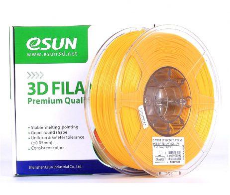 eSun PETG 1.75mm 3D Printing Filament 1kg-Solid Yellow