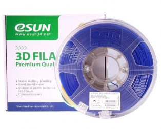 eSun PLA+ 1.75mm 3D Printing Filament 1kg-Blue