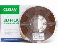 eSun PLA+ 1.75mm 3D Printing Filament 1kg-Brown