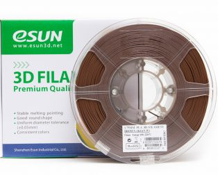 eSun PLA+ 1.75mm 3D Printing Filament 1kg-Brown