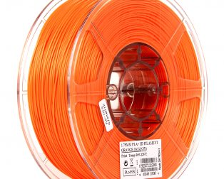 eSun PLA+ 1.75mm 3D Printing Filament 1kg-Orange