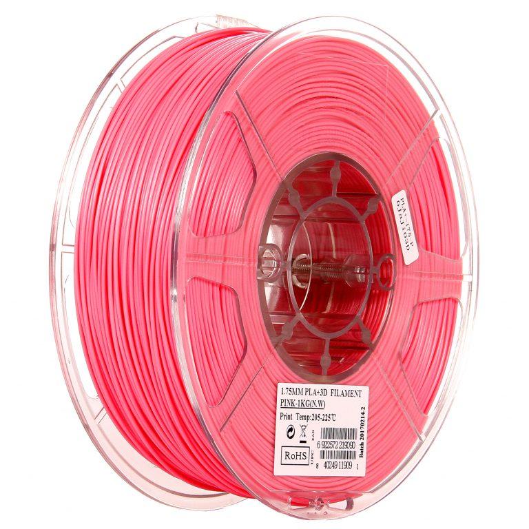 eSun PLA+ 1.75mm 3D Printing Filament 1kg-Pink