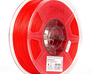 eSun PLA+ 1.75mm 3D Printing Filament 1kg-Red