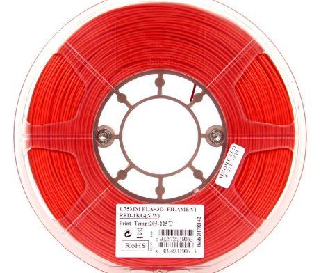 eSun PLA+ 1.75mm 3D Printing Filament 1kg-Red