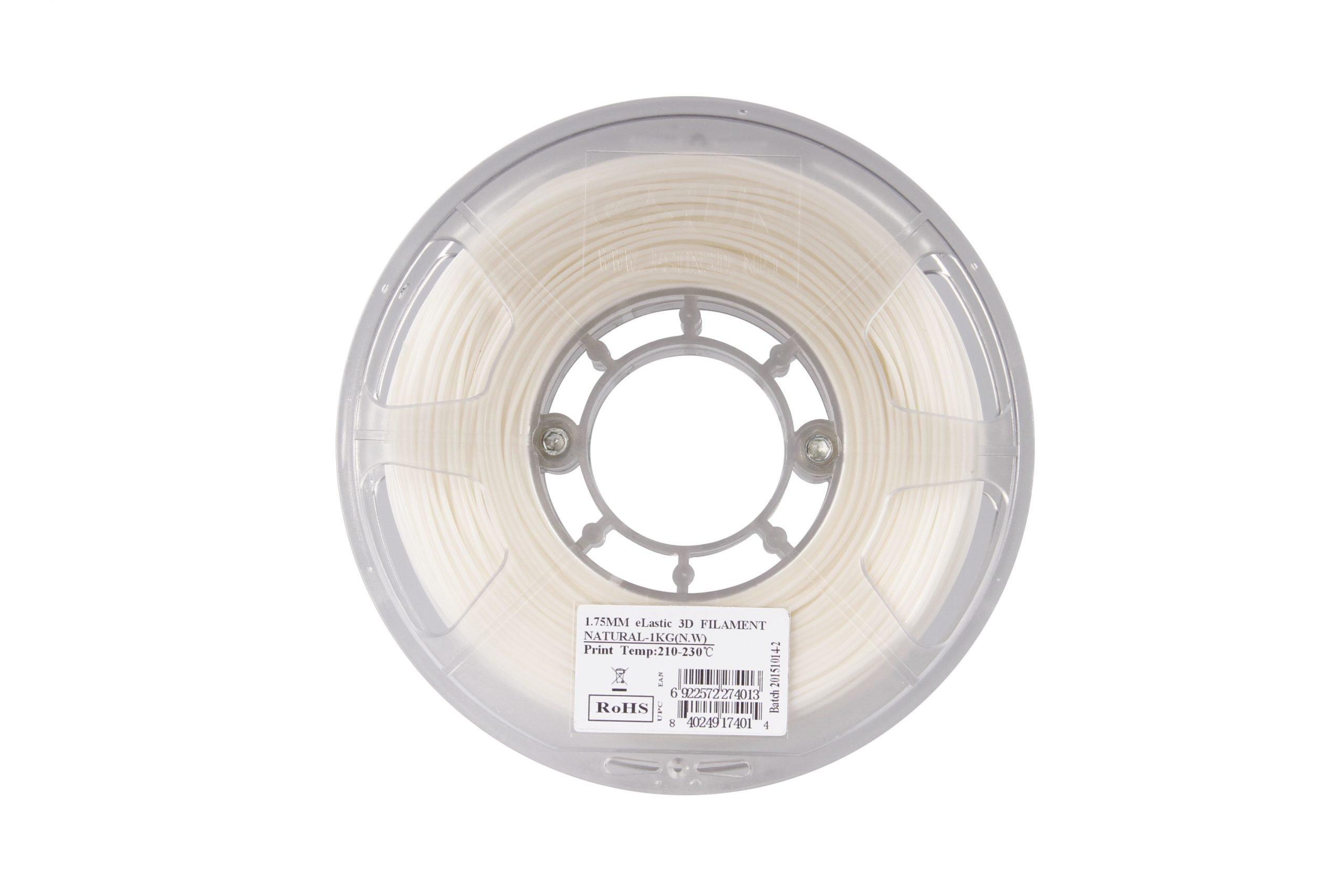 eSun eLastic TPE Filament 1.75mm-Natural