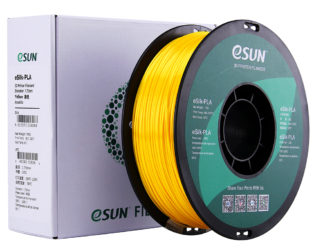 eSun eSilk PLA Filament 1.75mm 1Kg-Yellow