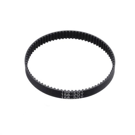 GT2 Close-Loop 158mm Long & 6mm-Width Rubber Timing Belt for 3D Printer