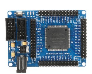 ALTERA FPGA Cyclone II EP2C5T144 System Development Board
