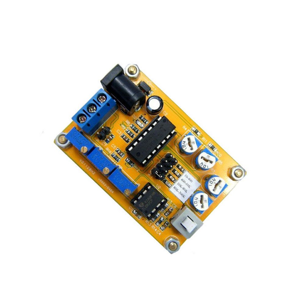 C32 ICL8038 Sine/Delta/Square Wave Signal Generator Module 10-300kHz -  Robu in | Indian Online Store | RC Hobby | Robotics