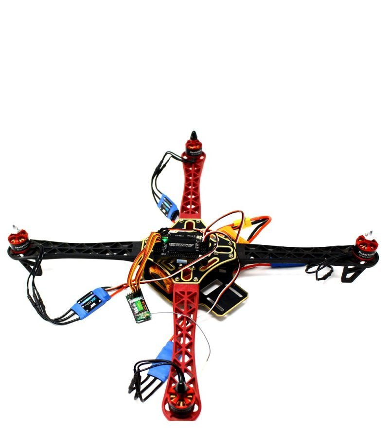 Connecting ESC to drone motors