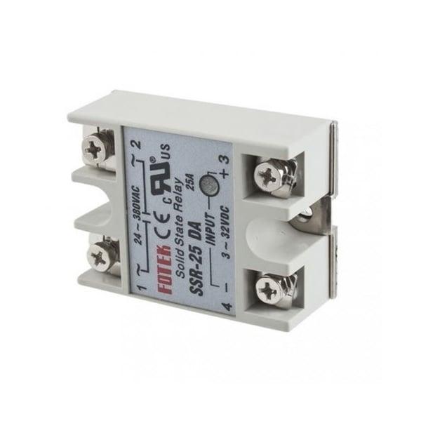 DC To AC SSR-40DA Solid State Relay Module 3-32 VDC 24-380VAC 25A