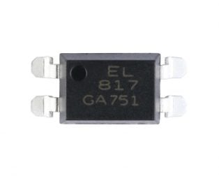EL817 SMD-4 Transistor Output Optocoupler IC