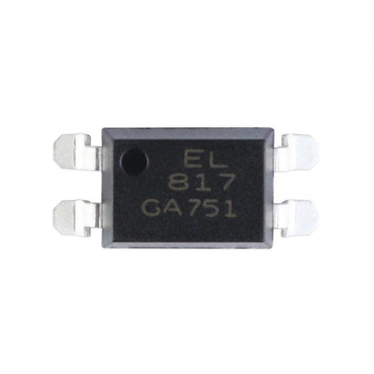 EL817 SMD-4 Transistor Output Optocoupler IC