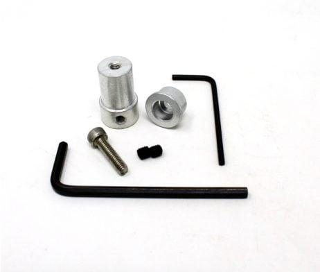 EasyMech Al Coupling For Plastic Omni Wheel