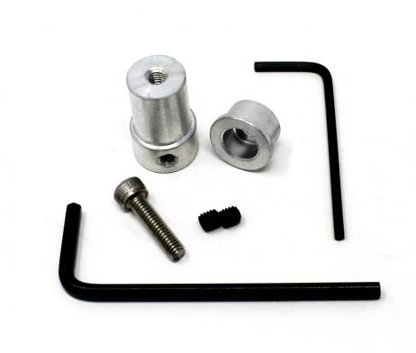 EasyMech Al Coupling For Plastic Omni Wheel