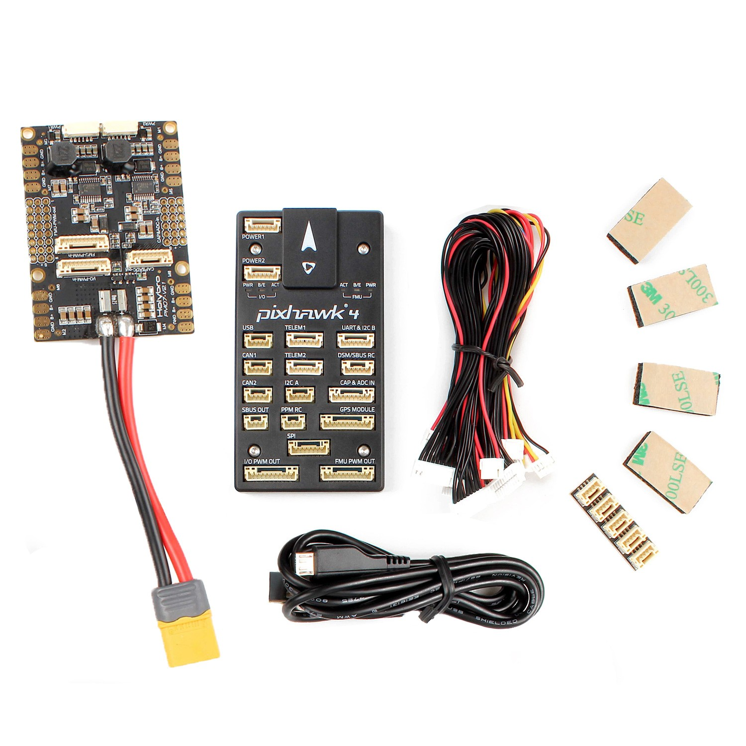 Holybro Original Pixhawk PX4 Flight Controller (without GPS) - Robu in |  Indian Online Store | RC Hobby | Robotics