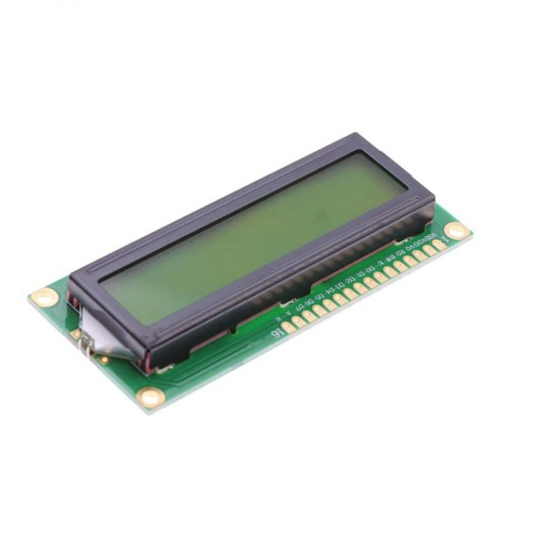 LCD1602 Parallel LCD Display with Gray Backlight