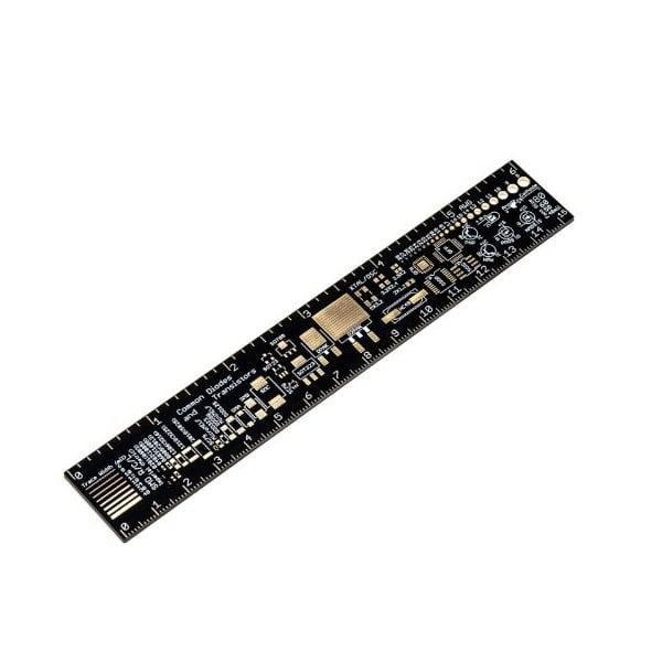 Multipurpose PCB Ruler Engineering measuring Tool-1Pcs.