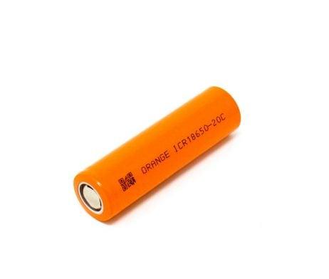 Orange ICR 18650 20C Lithium-Ion Battery - ROBU.IN